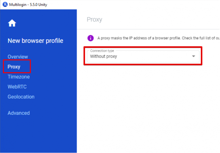 How to Configure Proxy Settings on Multi Login