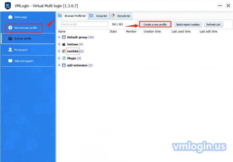 Configure proxy setting on VM LOGIN - netnut residential proxy network